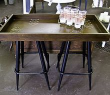 use a dremel tool to create texture and pattern, entertainment rec rooms, painted furniture