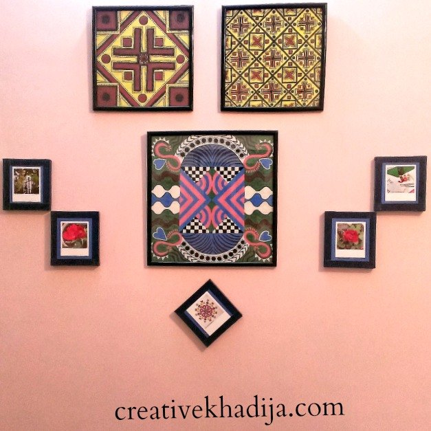 How to Decorate Craft Room Wall With Wooden TilesHometalk