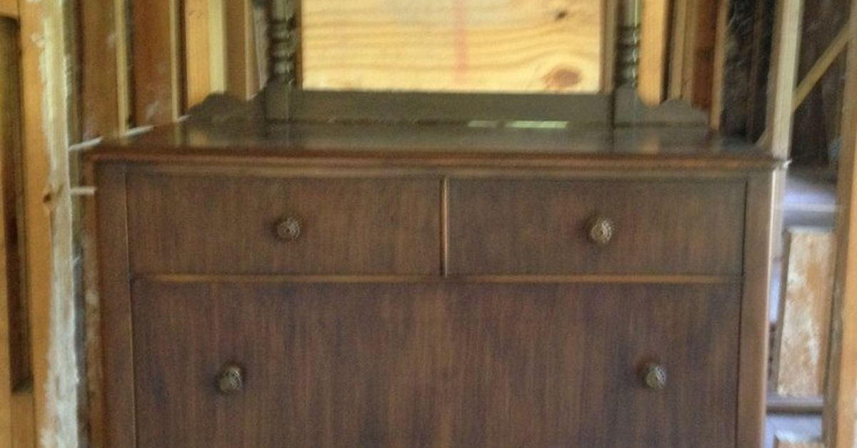 How Do I Remove The Top From A Dresser To Be Used As A