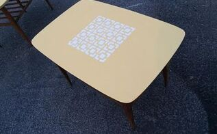 mid century modern end tables get a new life , chalk paint, diy, painted furniture