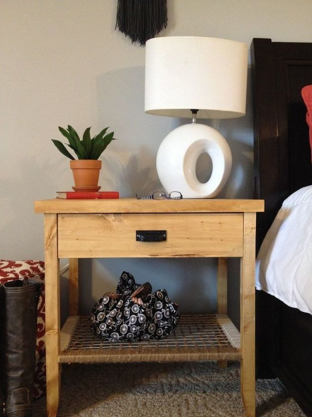 The south wing project part 1 diy nightstands hometalk for Diy rustic nightstand