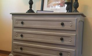 quick flip dresser in rh style, bedroom ideas, painted furniture