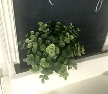 creating a farmhouse chalkboard, chalkboard paint, crafts