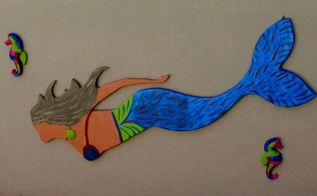 leatrice my mermaid , crafts, pool designs, woodworking projects
