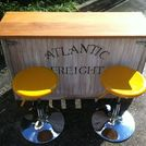 small kitchen island bar versatile and on the go , diy, kitchen design, kitchen island, outdoor living, pallet, woodworking projects