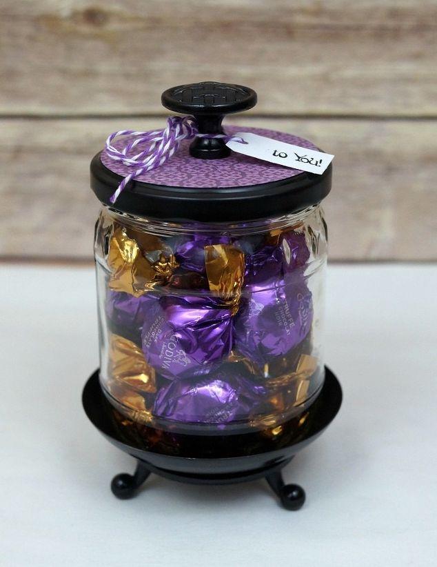 diy up cycled jar a little trash to treasure hometalk. Black Bedroom Furniture Sets. Home Design Ideas
