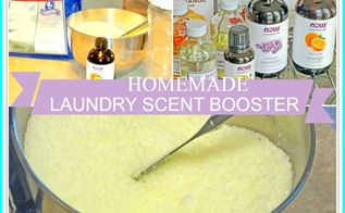homemade laundry scent booster, cleaning tips, how to, laundry rooms