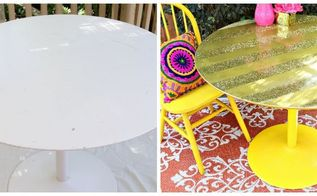 thrift store table makeover, how to, painted furniture