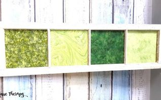super easy vintage window project, crafts, repurposing upcycling, windows, Wooden window project