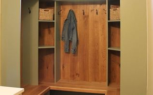 mudroom update building cubbies, foyer, organizing, storage ideas