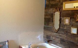 master bathroom mini makeover, bathroom ideas, home improvement, wall decor