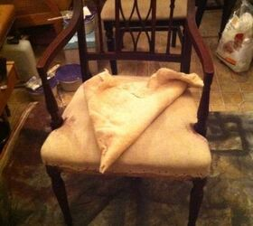 Restoring no Paint a $ Mahogany Table Plus Two Regency Chairs