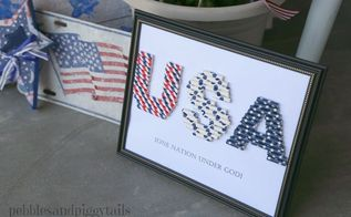 cute 4th of july straw craft , crafts, how to, patriotic decor ideas, seasonal holiday decor