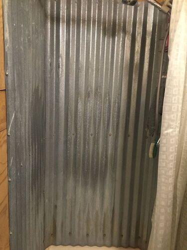 Anyone Use Barn Tin For A Shower Hometalk