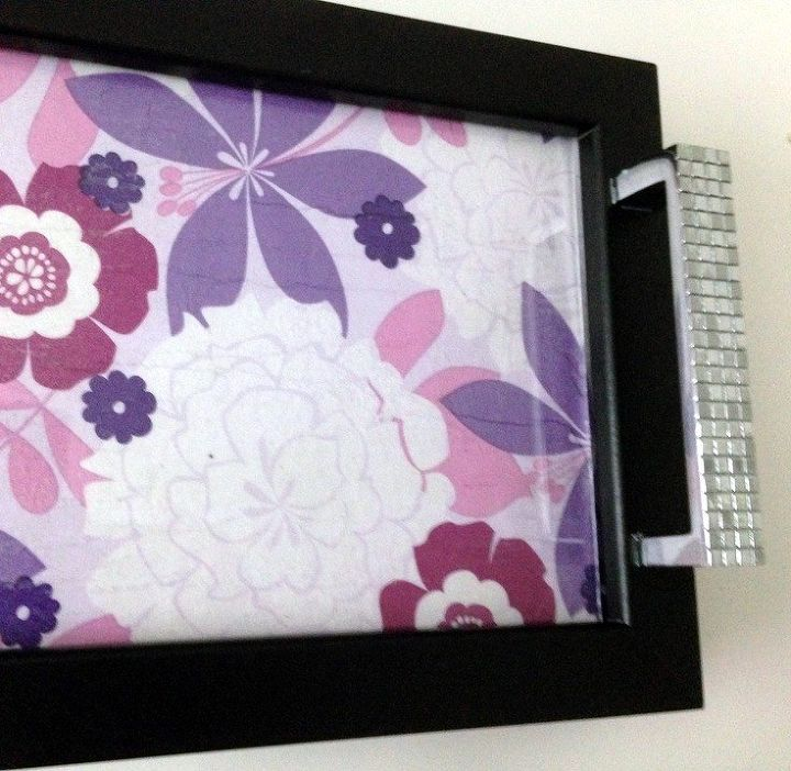 Interchangeable Guest Towel Picture Frame Tray Hometalk