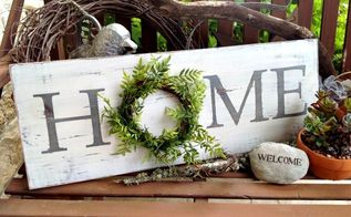 farmhouse style inspired home sign, crafts, home decor