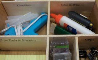 how to quickly cheaply create a drawer organizer, diy, how to, kitchen cabinets, organizing