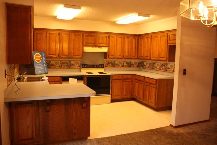 A Kitchen & Dining Makeover: Before And Afters