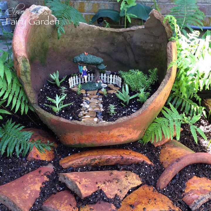 How To Create A Recycled Fairy Garden Hometalk
