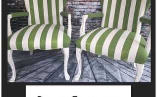 paint fabric chairs and old upholstery with fab, painted furniture, reupholster