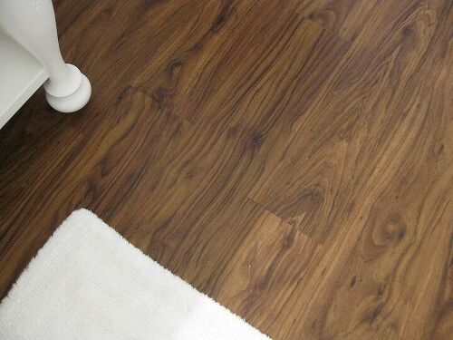 Inexpensive flooring solution to hide dirt hometalk for Inexpensive flooring solutions
