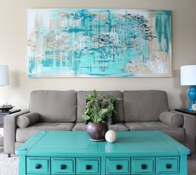 Make Large Canvas Wall Art For 14, Crafts, Diy, Wall Decor Part 53