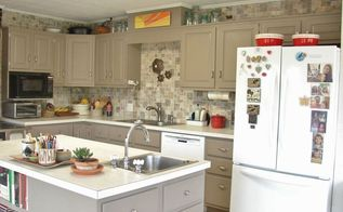 kitchen remodel on a strict 1 000 budget, diy, home improvement, kitchen design