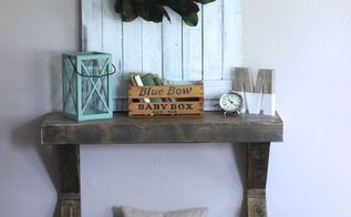 make super easy farmhouse shutters, diy, how to, window treatments, woodworking projects