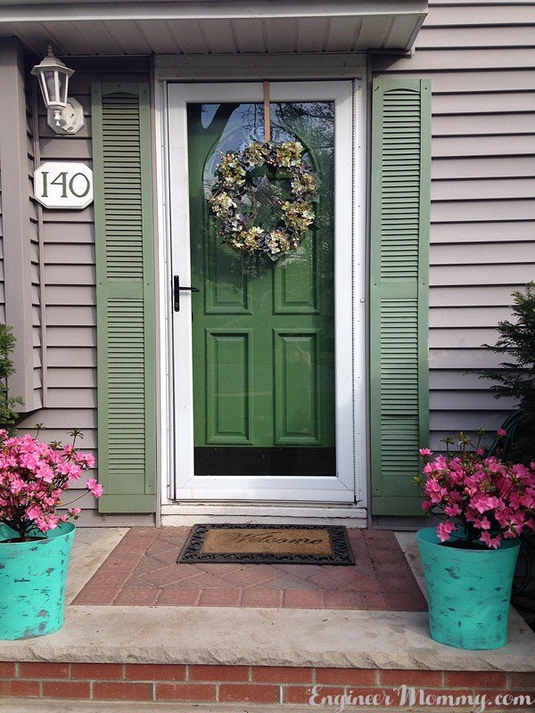 Painting our front door tips tricks hometalk Curb appeal doors