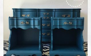 dressing up hardware with metallic cream, bedroom ideas, painted furniture