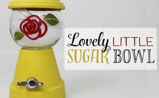 lovely little sugar bowl, crafts, how to