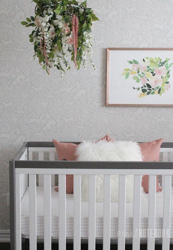 Baby girl s whimsical nursery hometalk for Whimsical decorations home