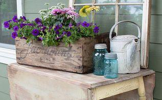 diy clean draining planter box, container gardening, diy, gardening, how to