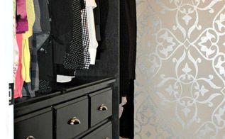 master bedroom closet makeover, bedroom ideas, closet, organizing, painting
