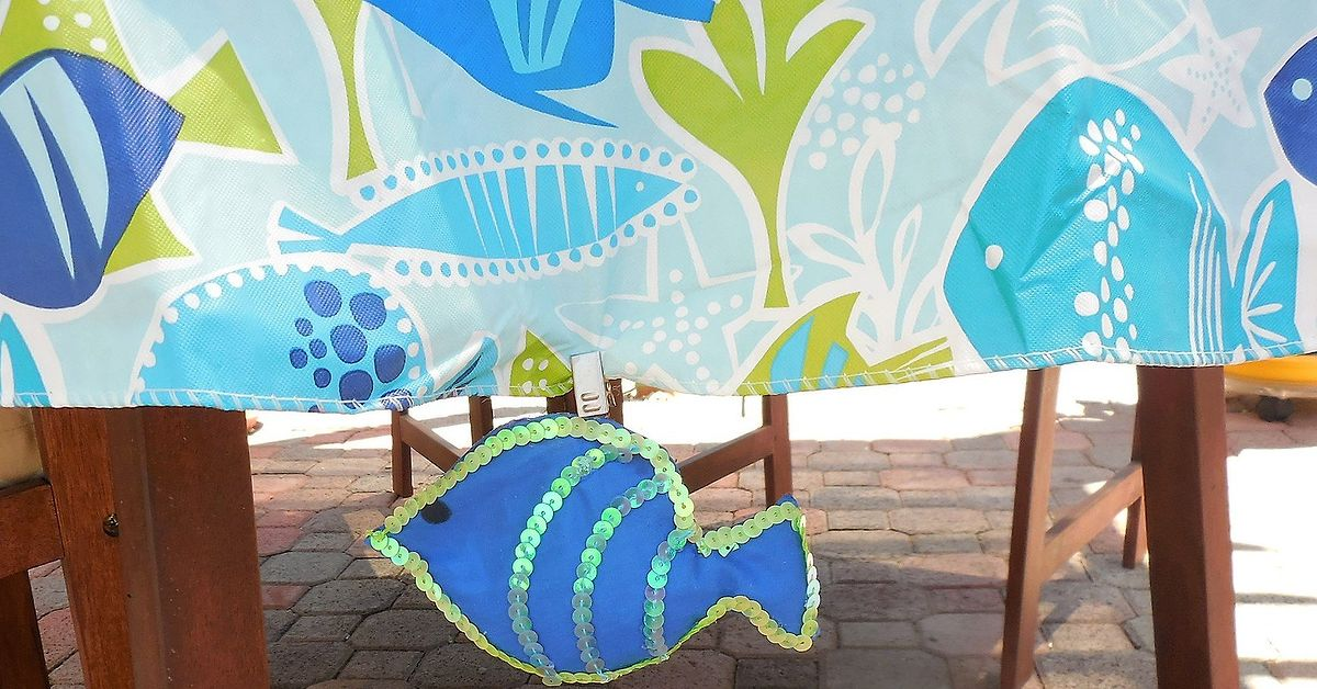 Fish Weighted Tablecloth Clip Hometalk