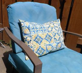 Velcro To The Rescue No More Outdoor Cushions Blowing Away , How To, Outdoor  Furniture