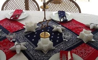 3 cheers for the red white and blue , patriotic decor ideas, seasonal holiday decor