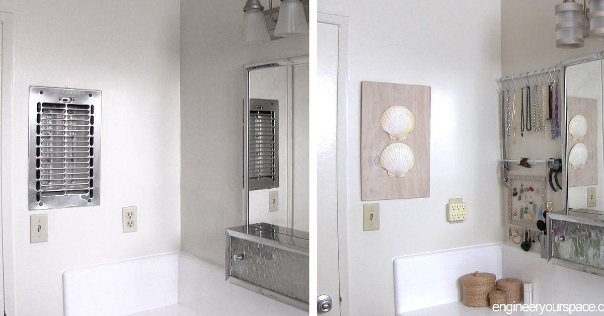 diy wall art with shells bathroom decorating ideas bathroom ideas