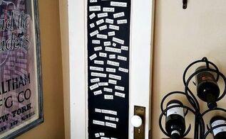old door upcycle, chalkboard paint, diy, doors