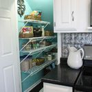 s 10 things pro organizers keep in their pantry all year long, closet, kitchen design, organizing, Woven Baskets