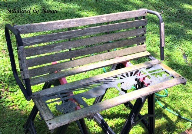 how to restore weathered wood, cleaning tips, diy, how to, outdoor furniture