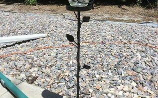 candle holder turned cup holder solar flower, crafts
