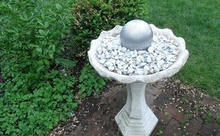 diy gazing ball, crafts, gardening