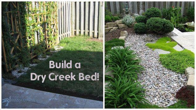 maintenance gardening part  dry creek bed hometalk