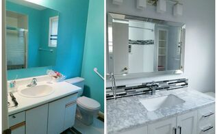 reclaiming and maximizing space in the bathroom, bathroom ideas, diy, home improvement, small bathroom ideas, storage ideas