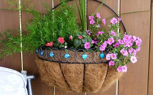 wall planters revived , container gardening, gardening, repurposing upcycling, wall decor