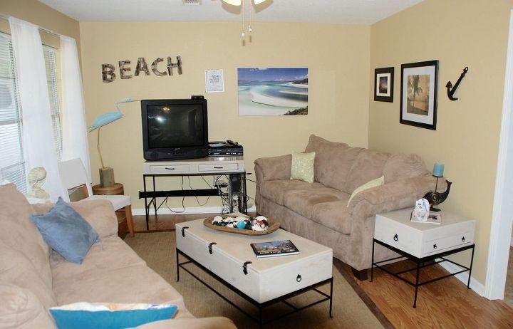 Beach house decor on a budget hometalk - Beach house decorating ideas on a budget ...