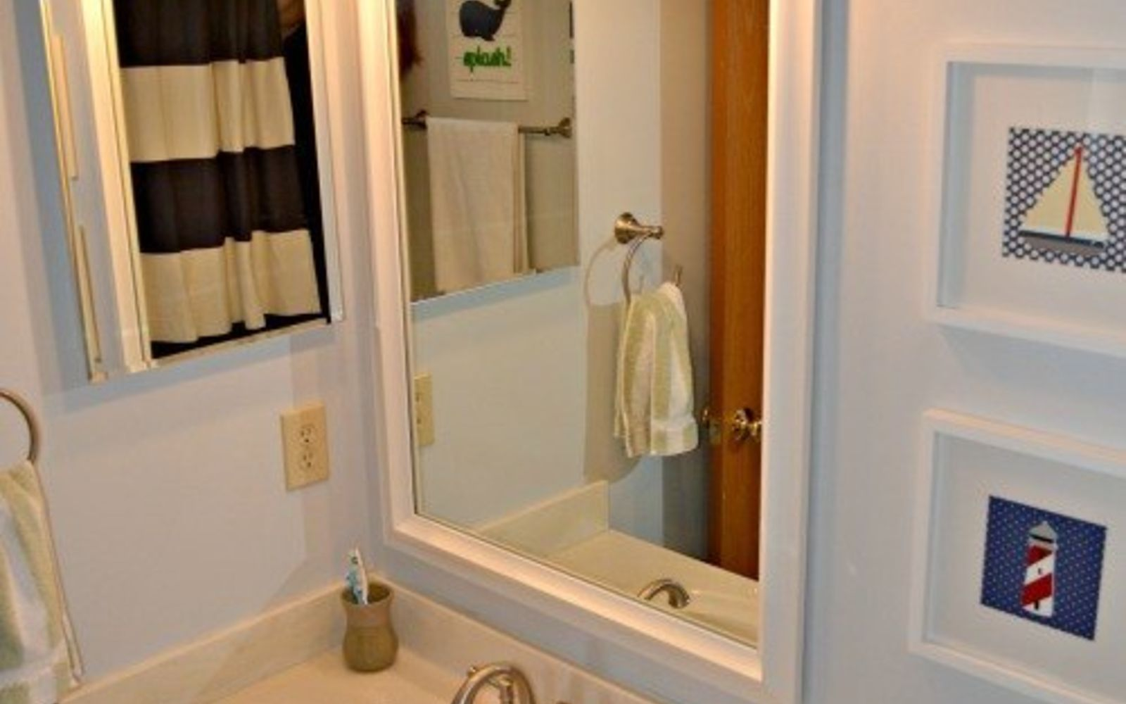 s 11 actually helpful tricks for decorating a small bathroom, bathroom ideas, Replace boring fixtures with interesting ones
