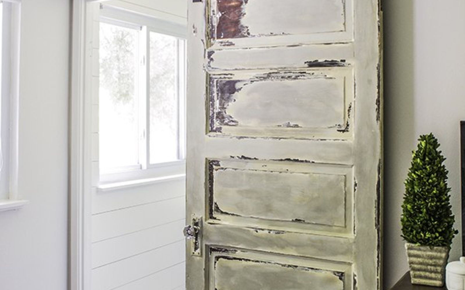 s 11 actually helpful tricks for decorating a small bathroom, bathroom ideas, Trade your swinging door for a sliding door