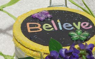 fairy jar, crafts, decoupage, lighting, mason jars